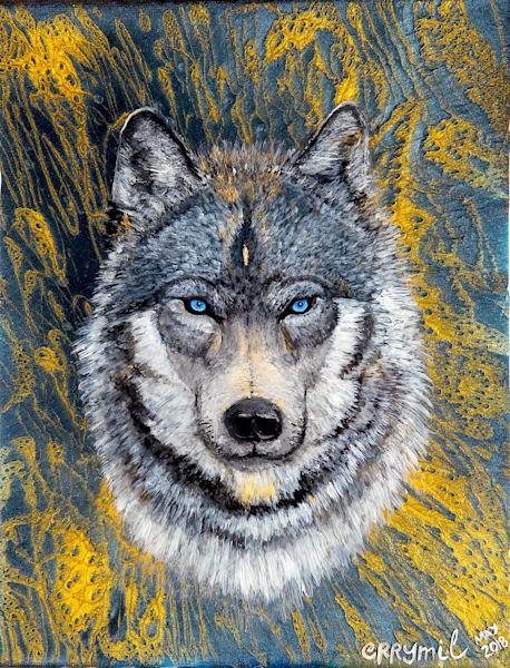Wolf art: Shop Print / Errymil Batol Art