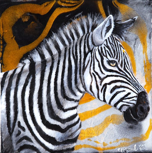 Pop Art Zebra: Shop Print / Errymil Batol art