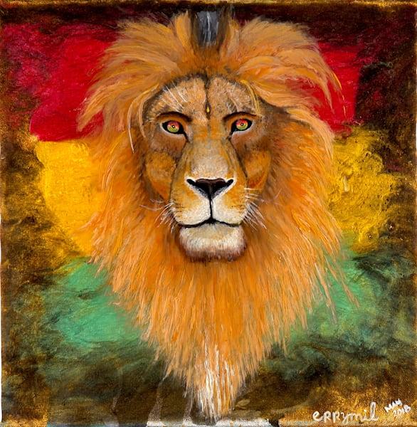 Rasta Lion art: Shop Print / Errymil Batol Art