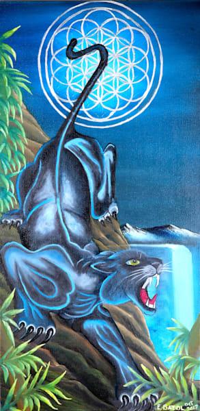 Black Panther animal art: Shop Print / Errymil Batol Art