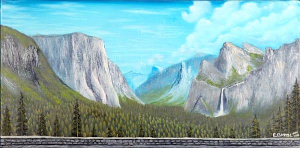 Yosemite Landscape painting