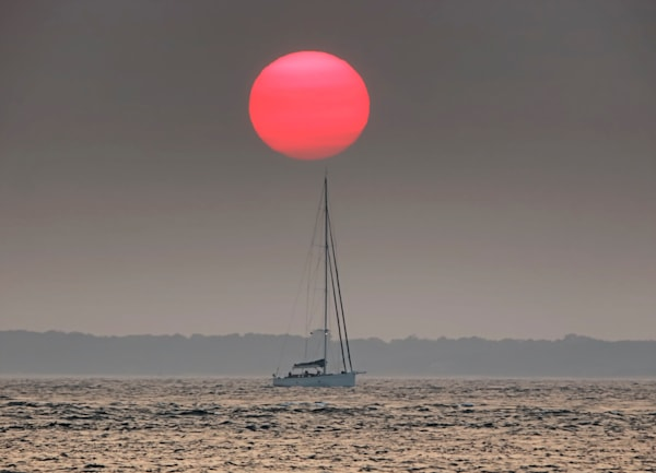 Sailing With The Setting Sun