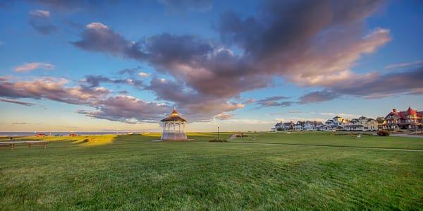 Ocean Park Bandstand Clouds