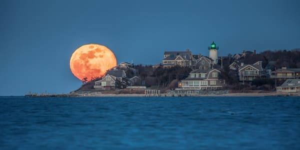 East Chop Blue Moon Rising