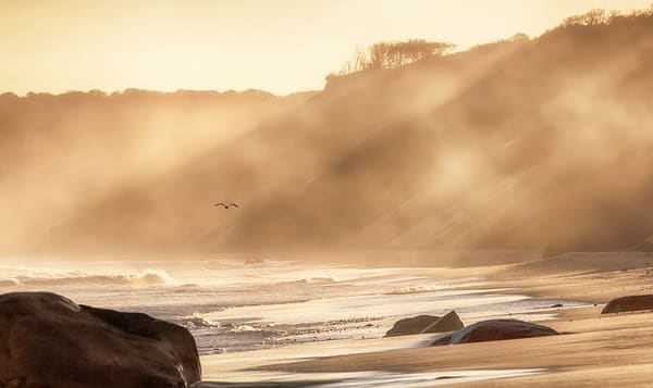 Lucy Vincent Beach Mist Photography Art | Michael Blanchard Inspirational Photography - Crossroads Gallery