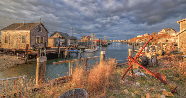 Menemsha Village Harbor