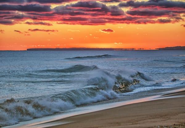 Long Point Magenta Sunset Art | Michael Blanchard Inspirational Photography - Crossroads Gallery