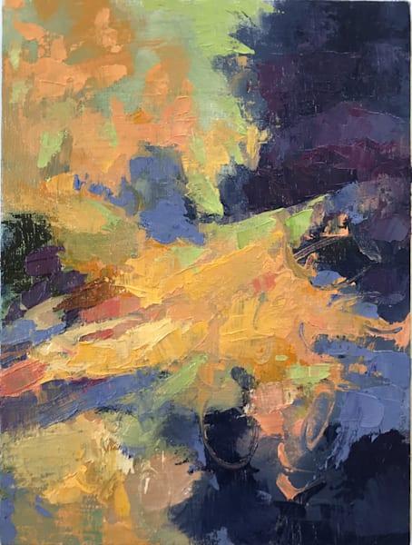 Beyond The Edge, Oil on Linen, 12x9