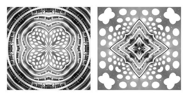 Each Contained Within the Other (diptych)