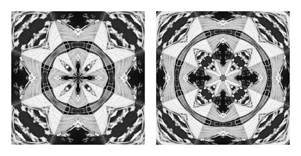 Beyond the Building (diptych)