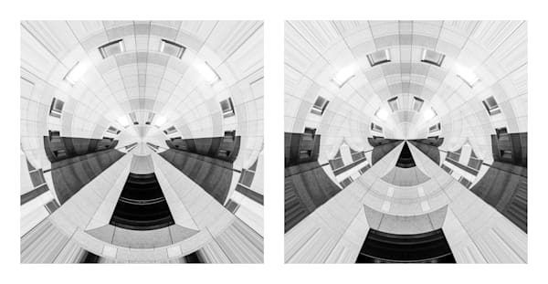 Reflected Projection (diptych)