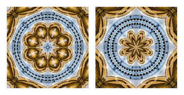 Two Ways of Being In the World (diptych)