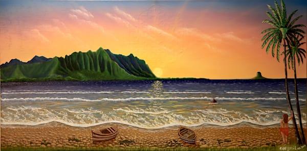 Oil painting Hawaii: Shop Print / Errymil Batol Art