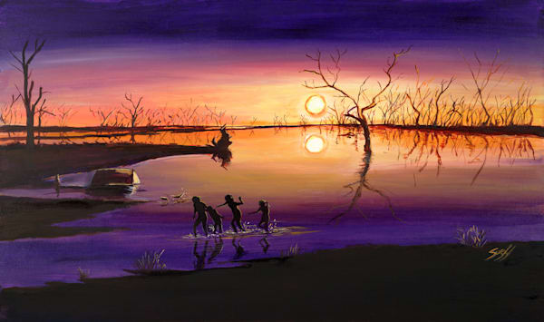 Menindee Sunset