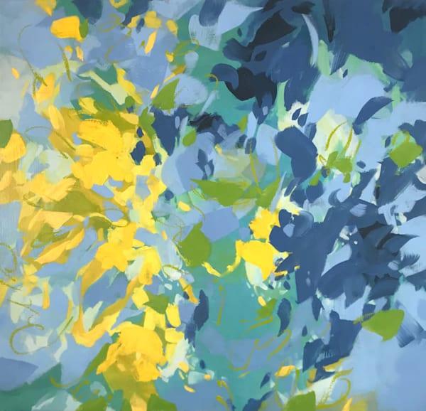 Tethered II, Mixed Media on Canvas, 22x22