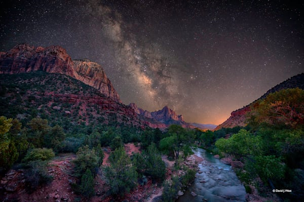 Starry Night over Zion