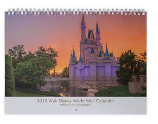 2019 Walt Disney World Calendar | William Drew Photography