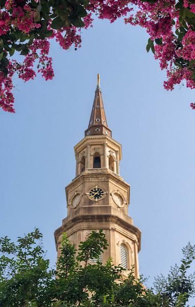 St Phillips Church Crepe Myrtle