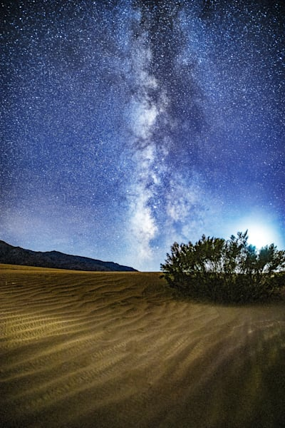 Milky Way Over the Dunes