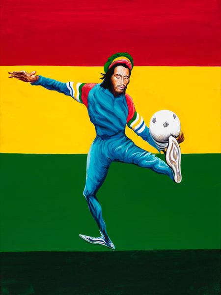 Marley Kickin' Art | George Terry McDonald Art