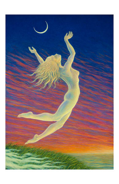 Moondancer 5x7 Inch Notecard | markhensonart