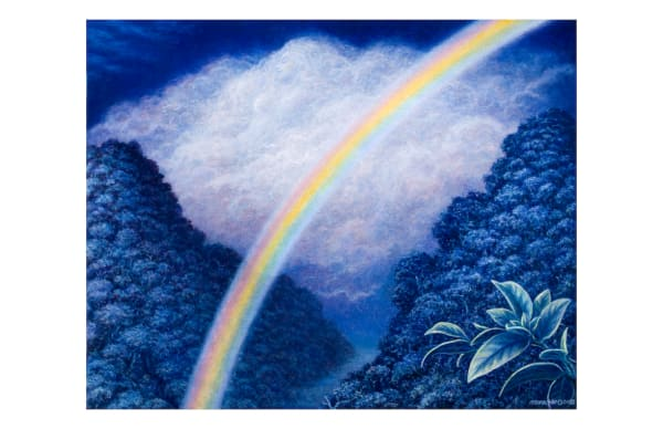 Moonbow 5x7 Inch Notecard by Mark Henson Art