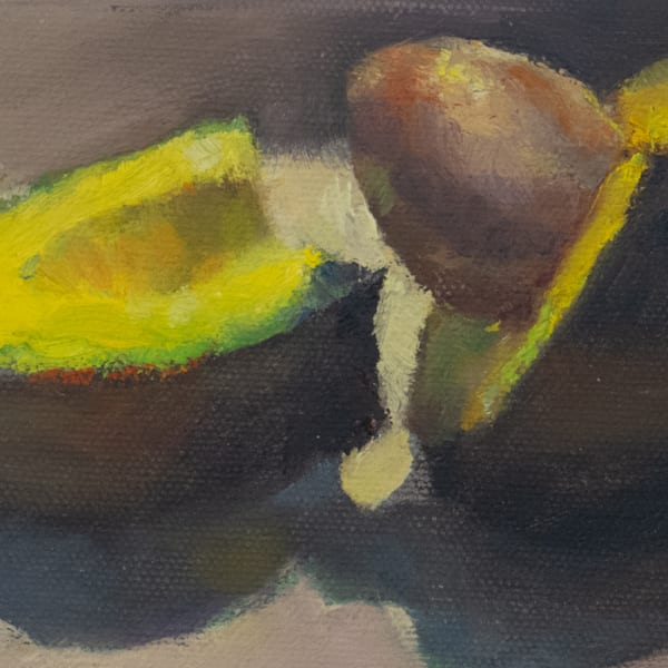 Available Now Only As A Print   Avocado 1  Art | Bkern Fine Art
