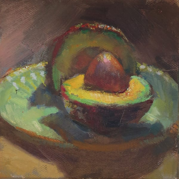 Available Now Only As A Print   Avocado 2 Art | Bkern Fine Art