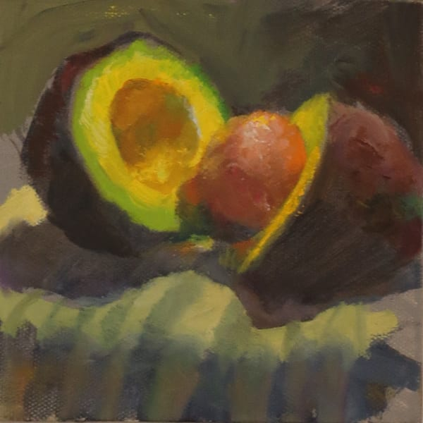 Available Now Only As A Print   Avocado 3 Art | Bkern Fine Art
