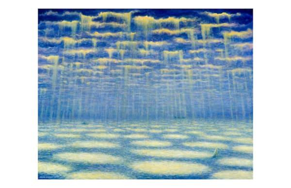 Liquid Light 5x7 inch notecard