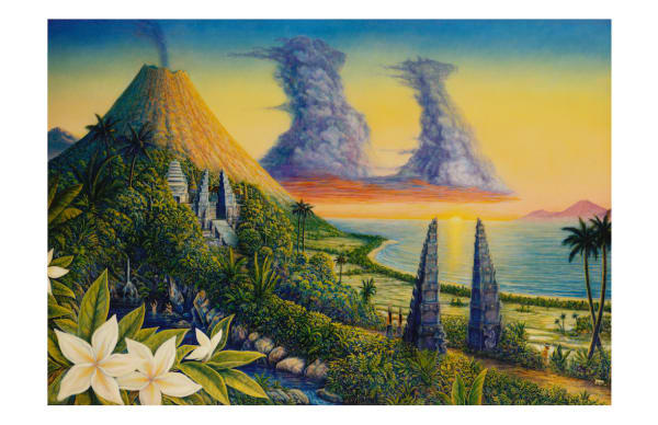 Morning Of The World 5x7 Inch Notecard by Mark Henson Art