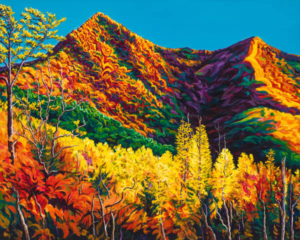 Mt. Pisgah   1999 Art | George Terry McDonald Art