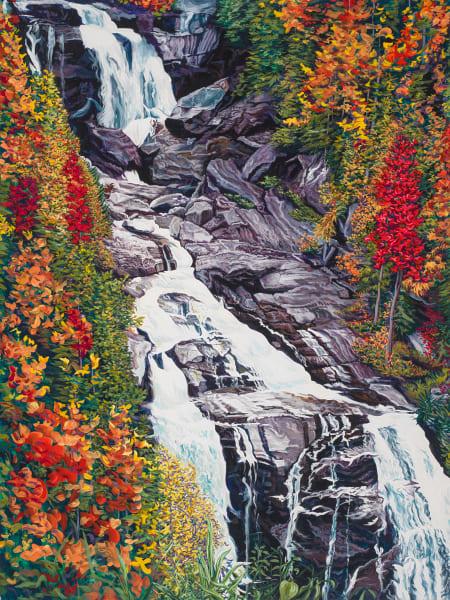 Whitewater Falls Art | George Terry McDonald Art