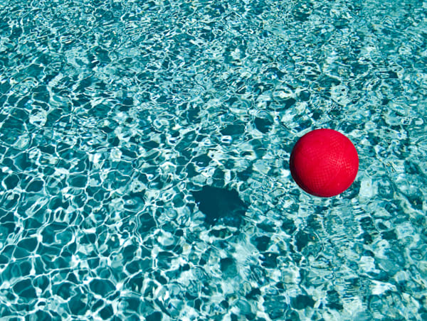 Floating Red Ball