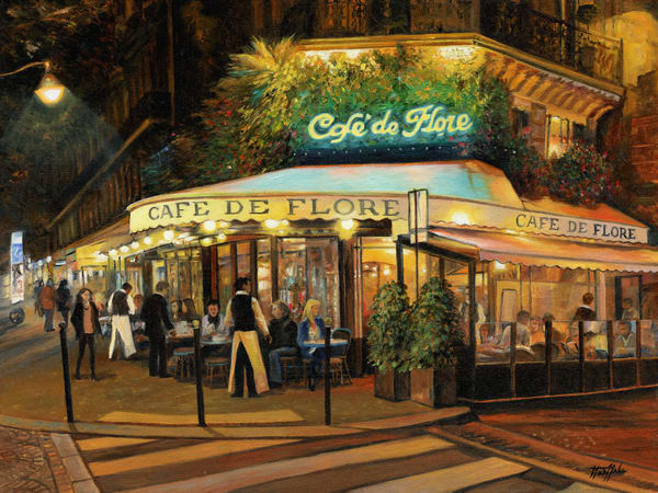 An Evening at Cafe de Flore