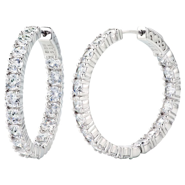 Double Sided In and Out Couture Hoops by Bling by Wilkening