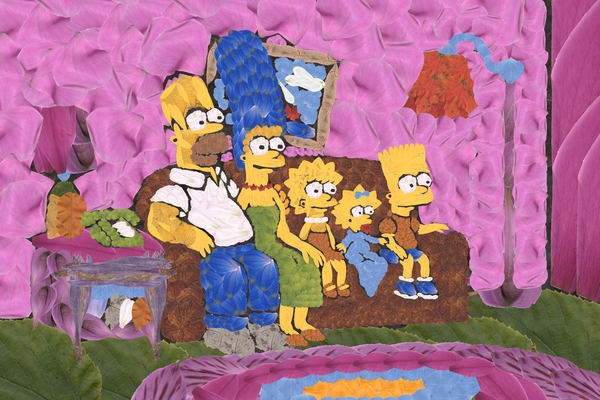 The Simpsons Art | smacartist