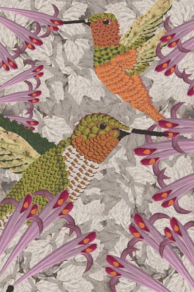 Humming Birds Art   smacartist