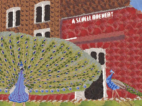 Shell's Peacock Art   smacartist