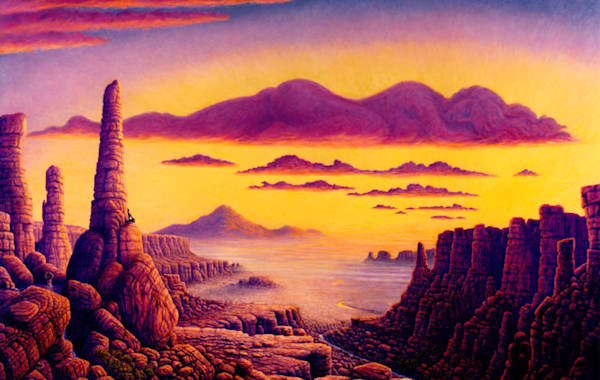 Grand Canyon traditional print