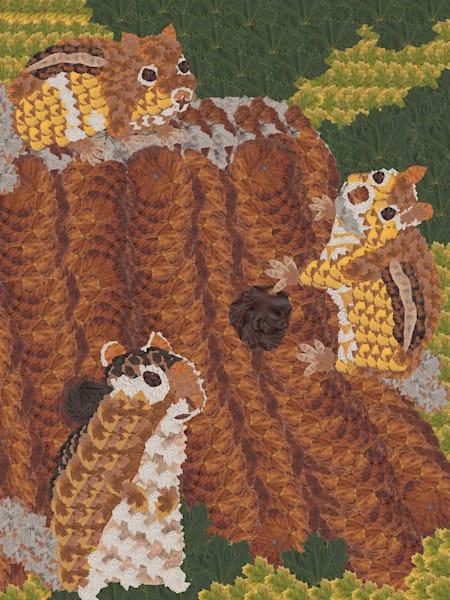 Chipmunks Art | smacartist