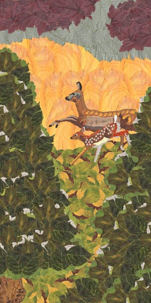 Doe And Fawn Art | smacartist