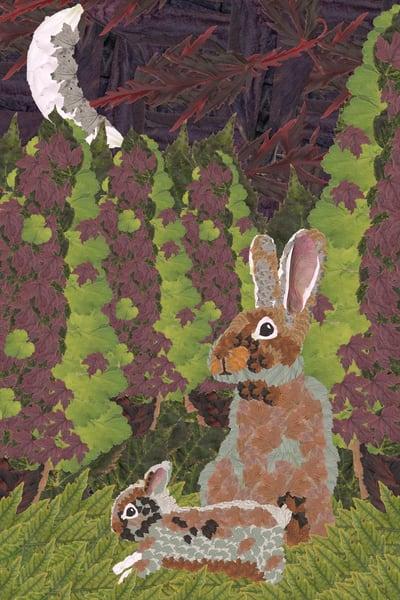Rabbits (Goodnight Moon) Art | smacartist