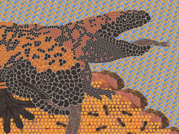 Gila Monster Art | smacartist