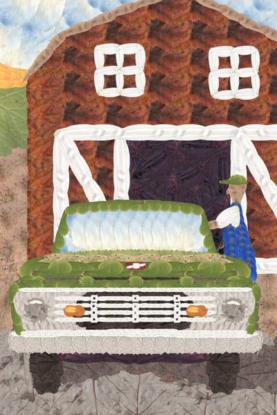 Pickup Truck Art | smacartist