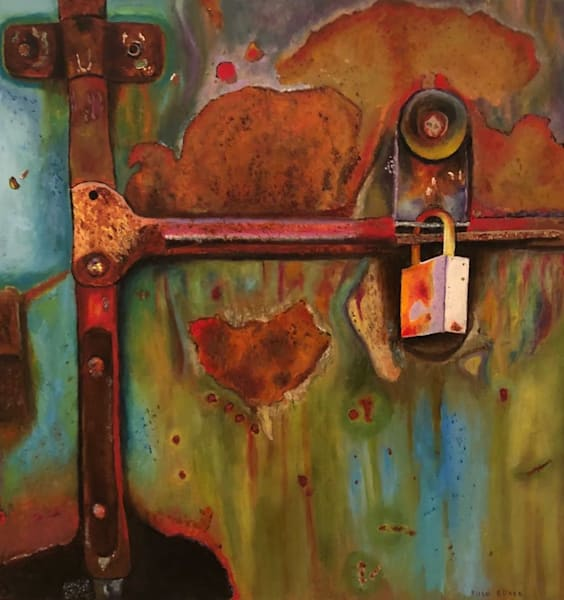 All Locked Up Art | Marci Brockmann Author, Artist, Podcaster & Educator