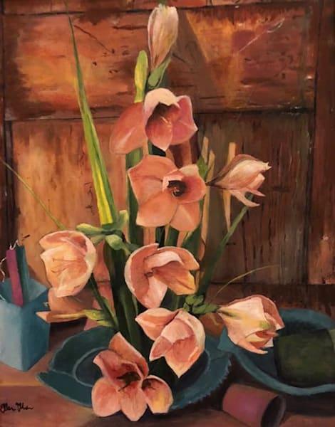 Still Life With Flowers Art | Marci Brockmann Author, Artist, Podcaster & Educator