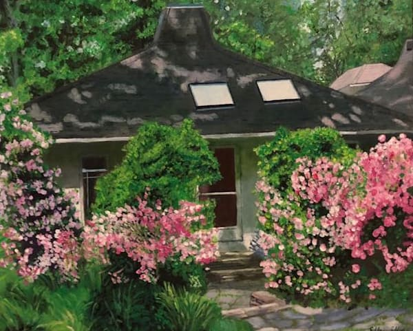 Summer Gardens Art | Marci Brockmann Author & Artist