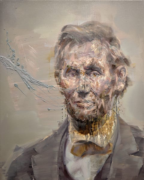 Abraham Lincoln Art | Mathieu Laca