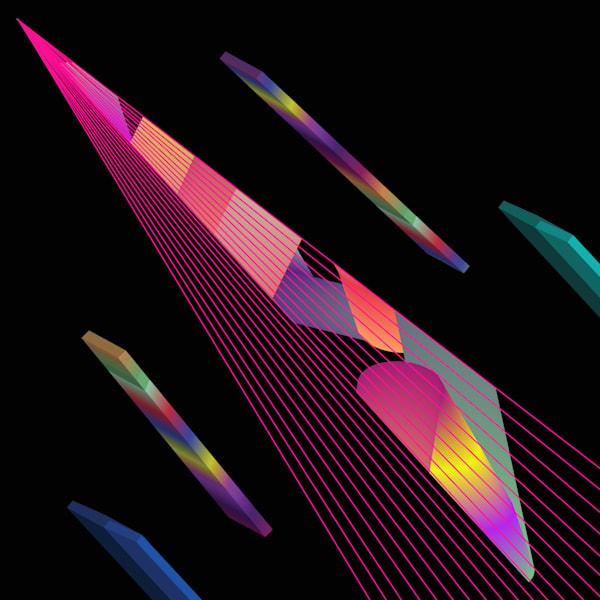 digital art, vortex, spectrum, patterns, 3d, wall art